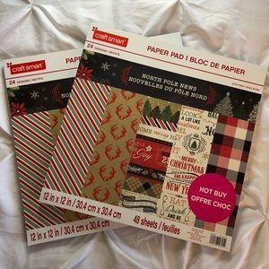Craft Smart Scrapbook Paper - 2 Pack